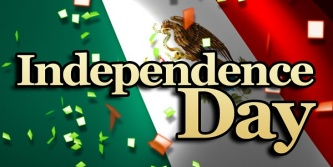 The Mexican Independence Day Celebration will begin at 5:00 pm (following the 4:00 pm Mass) on Saturday, September 12.  Good food, entertainment, music and dancing will provide for a fun evening for the whole family.  Tickets are $7.00 per person or $5.00 per person for a family of 4 or more.  Ticket sales will be after all Masses, beginning the weekend of August 29