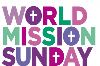 On Sunday, October 22nd we celebrate World Mission Sunday. Each October, this celebration leads us to the heart of our Christian faith – leads us to mission, as Pope Francis explains. On this day, we are called – as baptized Catholics – to celebrate and support local churches in Asia and Africa, the Pacific Islands, and parts of Latin America and Europe, an area that covers more than half the territory of the globe. Through the work and witness of mission priests, religious and lay leaders, the poor receive practical help and experience God's love and mercy, His hope and peace.