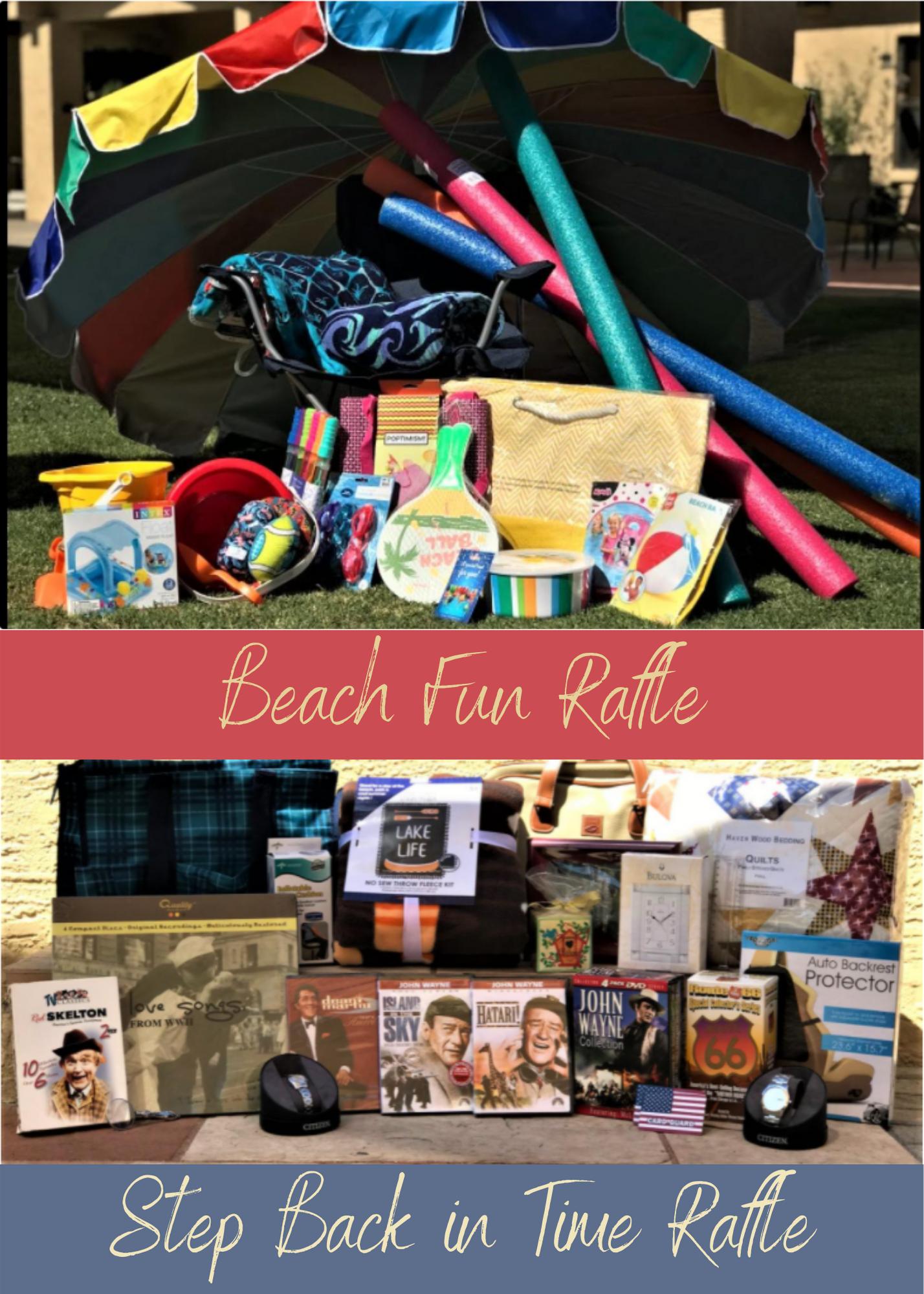 Beach Fun Raffle Announcement