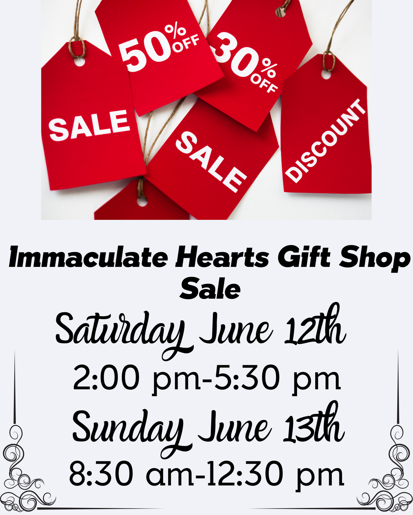 Gift Shop June Sale